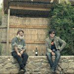 El-Viaje- Macha und Rodrigo Gonzalez am Haus von Macha in Santiago_1